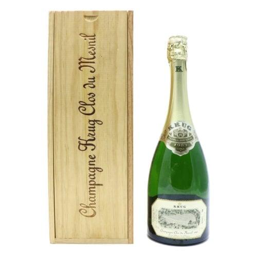 1983 Krug Clos du Mesnil Brut - Champagne Blanc de Blancs