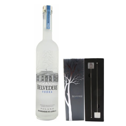 BELVEDERE Vodka With Cocktail Stirrers