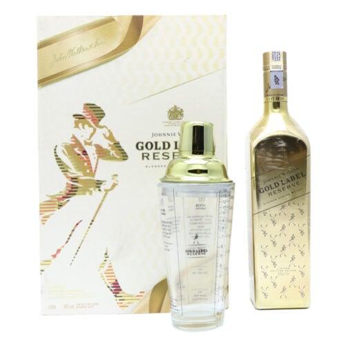 JOHNNIE WALKER Gold Label Reserve Gift Pack 55