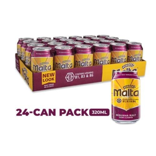 MALTA Cans (320ml x 24)