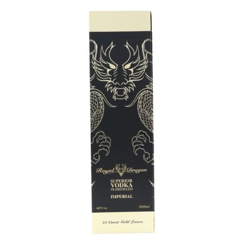 ROYAL DRAGON Imperial Vodka 1L 3