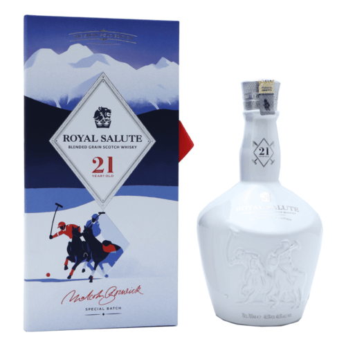 ROYAL SALUTE 21 Year Old Snow Polo Edition 2019 4