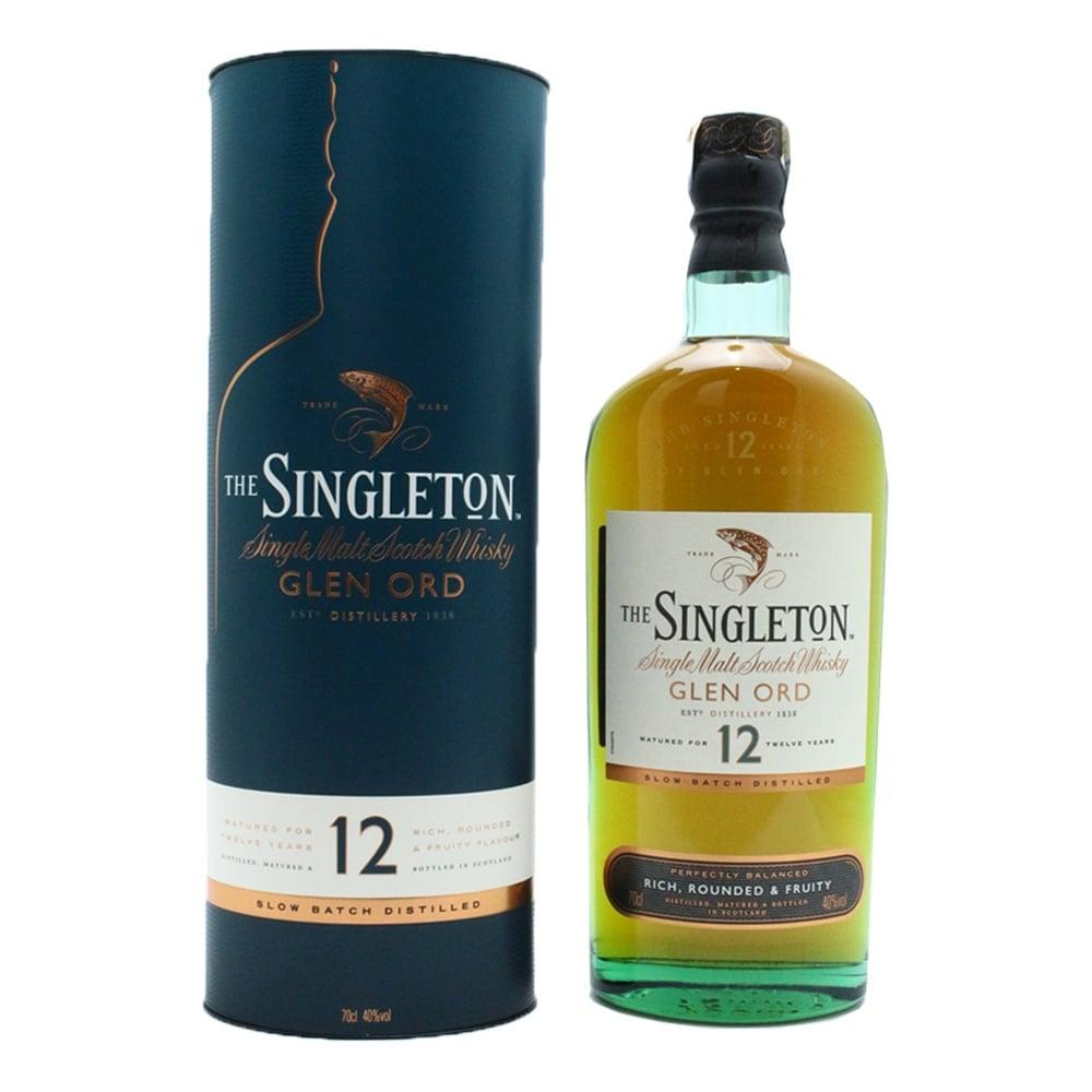Singleton of Glen Ord 12 Year Old Single Malt Scotch