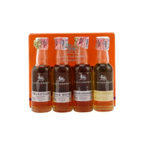 A. DE FUSSIGNY Cognac Tasting Kits 4X3CL Miniature