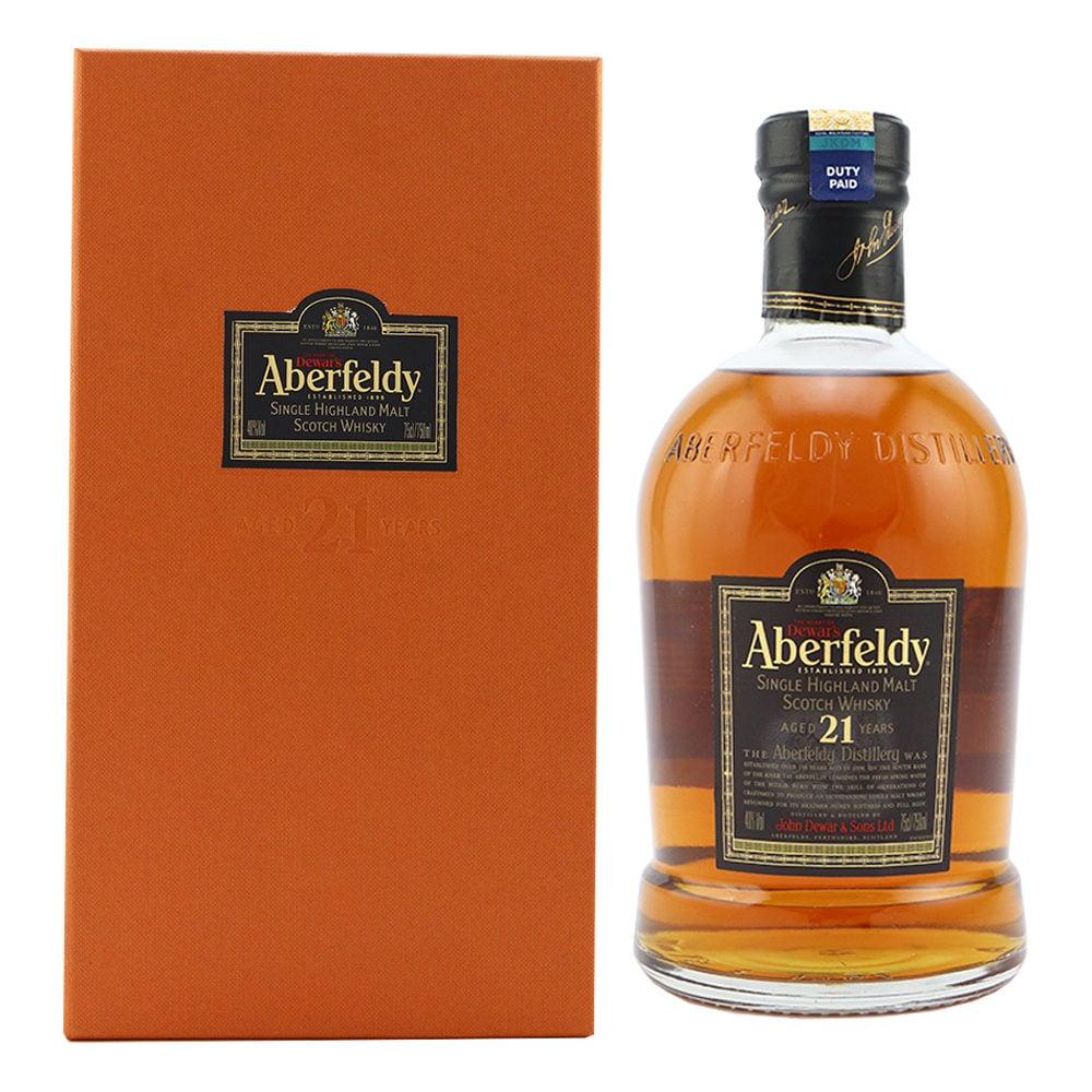 Aberfeldy 21 Year Old Scotch Whisky