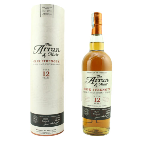 Arran 12 Year Old Cask Strength-Batch 2