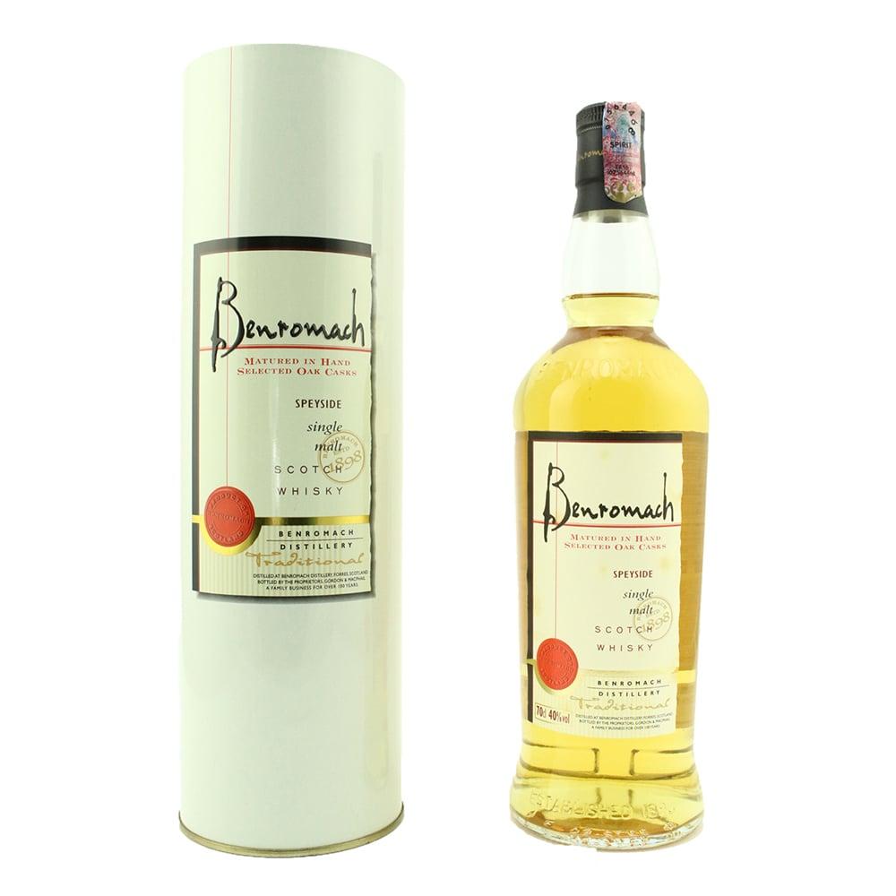 Benromach Traditional Single Malt Scotch Whisky