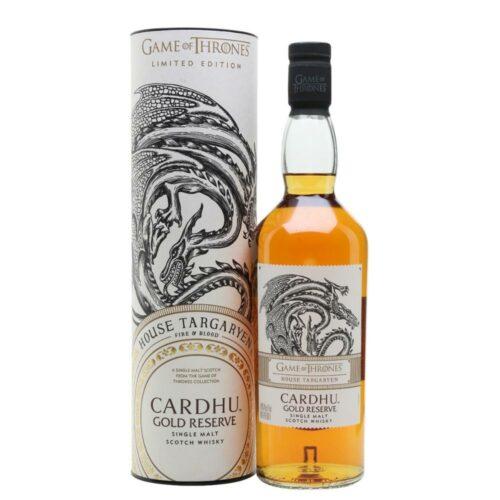 Game of Thrones House Targaryen Cardhu Gold Reserve