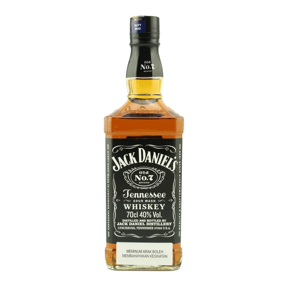 JACK DANIEL'S Old No.7 Black Label