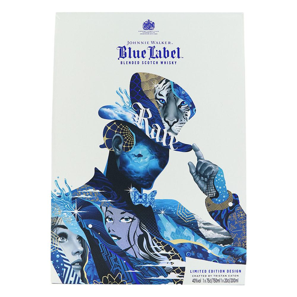 JOHNNIE WALKER® BLUE LABEL™ ARTIST SERIES X TRISTAN EATON LIMITED EDITION