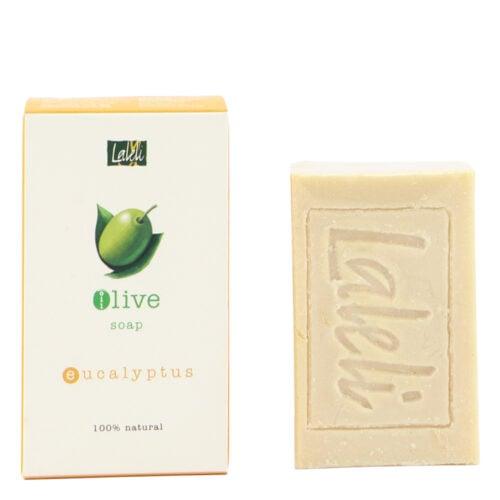 LALELI Olive Soap Eucalyptus 120g