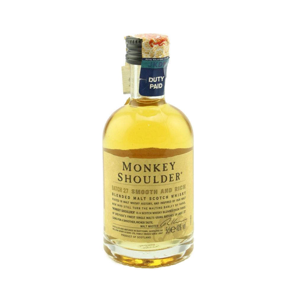 MONKEY SHOULDER Whisky (Miniature) 50ml