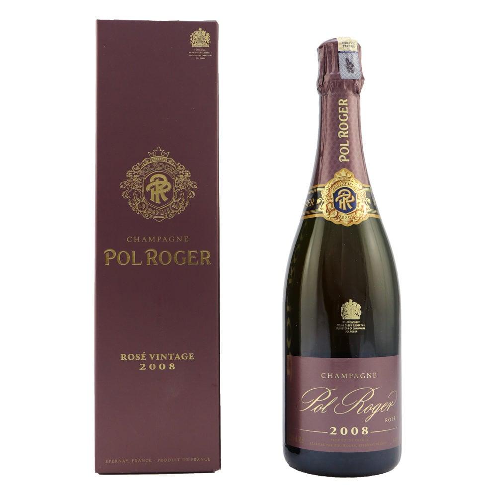 POL ROGER Brut Rose Vintage 2008