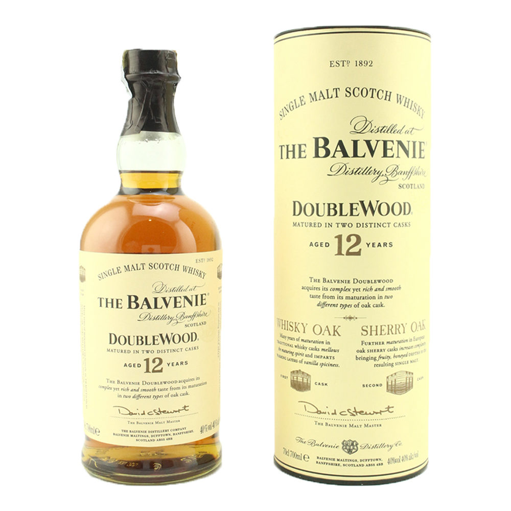 THE BALVENIE Double Wood 12 Year Old