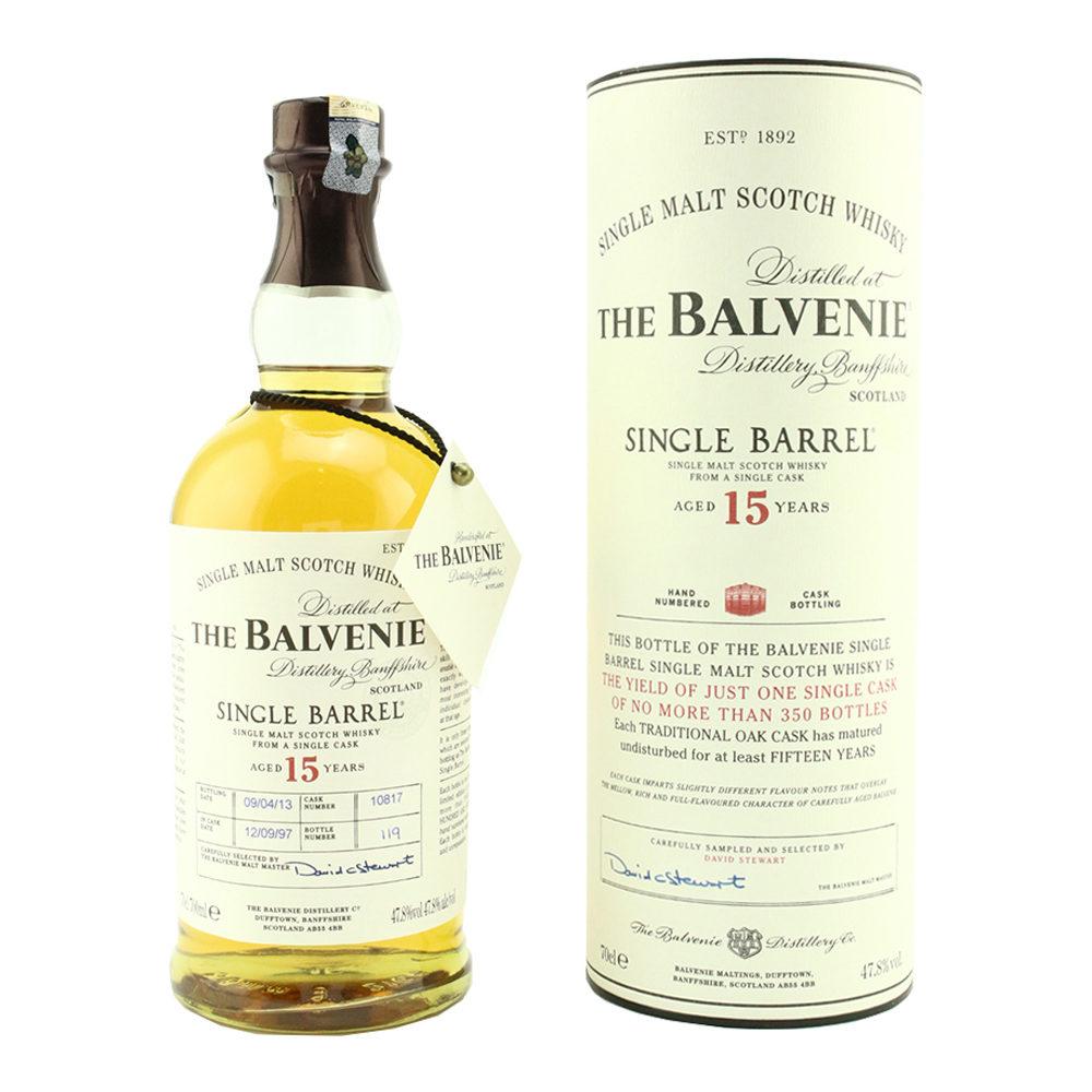 THE BALVENIE Single Barrel 15 Year Old