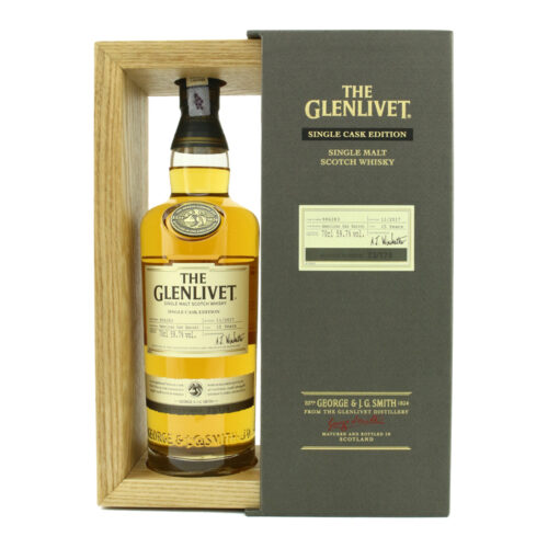 THE GLENLIVET 15 YEAR OLD AMERICAN OAK BARREL SINGLE CASK EDITION