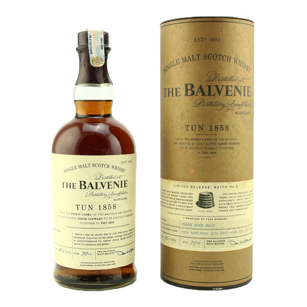 The Balvenie Tun 1858 Batch No.3