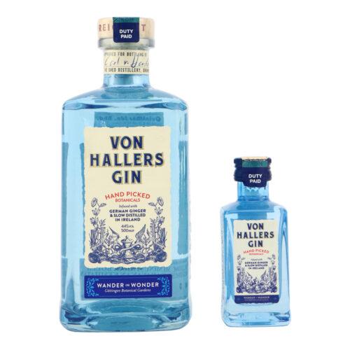 VON HALLERS Gin with 5CL miniature
